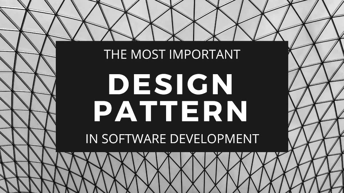 The Most Important Design Pattern In Software Development Profocus Technology Open It Positions And Technology Job Postings